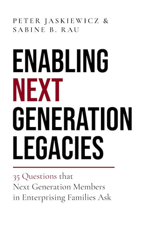 Enabling Next Generation Legacies Book Cover